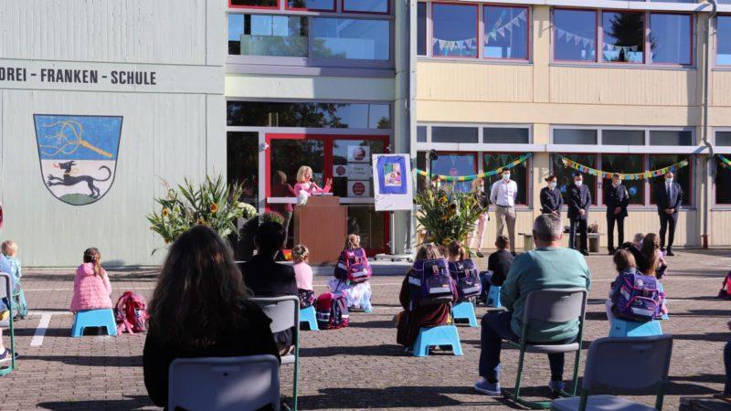 Einschulungsfeier 2020 An Der Drei-Franken-Grundschule Geiselwind